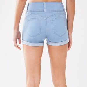 Forever 21 Shorts - New Cuffed Push-Up Denim Shorts